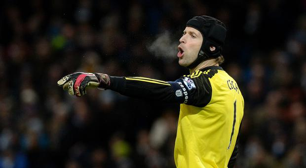 Petr Cech has lost the number one jersey at Chelsea this season