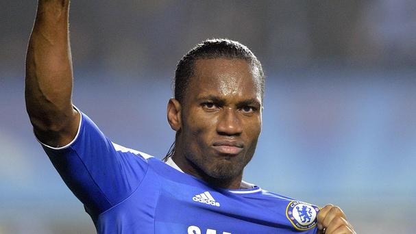 Didier Drogba has the opportunity to cement his legendary status at Stamford Bridge
