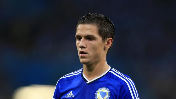 Leon Osman expects Muhamed Besic, pictured, to sign for Everton