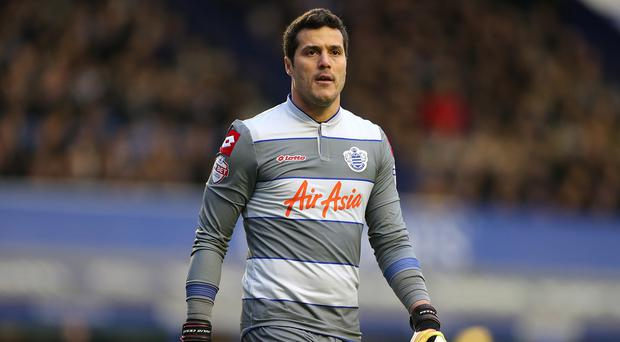 Julio Cesar is heading back to Loftus Road