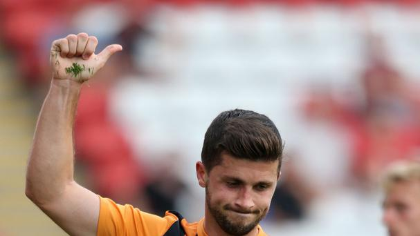 Shane Long gave Hull the lead against Barnsley
