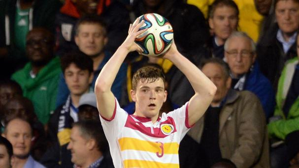 Andrew Robertson is in talks over a move to Hull