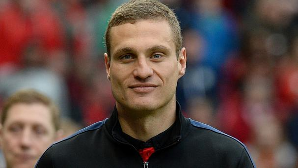 Serbia's Nemanja Vidic left Manchester United for Inter Milan this summer