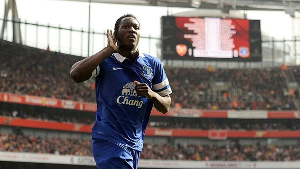 Romelu Lukaku was a big hit at Goodison Park last season