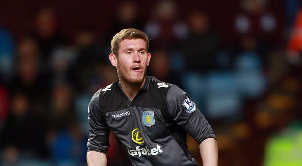 Jed Steer has been sent out on loan by Aston Villa