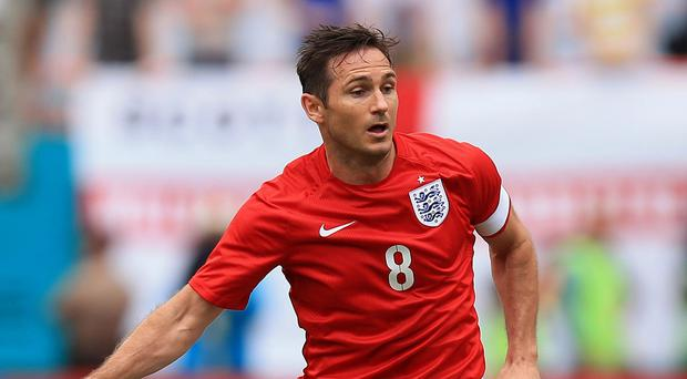Frank Lampard has announced his international retirement after 106 caps for England