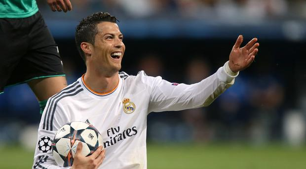 Cristiano Ronaldo, pictured, hopes Manchester United can succeed under Louis van Gaal