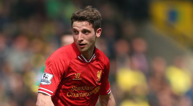 Joe Allen opened the scoring for Liverpool