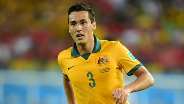 Australia's Jason Davidson has joined West Brom on a two-year deal