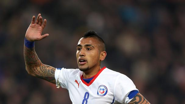 Arturo Vidal has been strongly linked with Manchester United