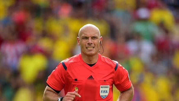 Howard Webb refereed for the last time at the World Cup in Brazil
