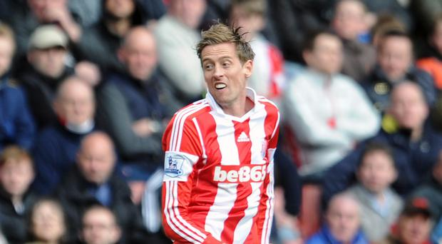 Peter Crouch is one of the strikers in West Ham's sights
