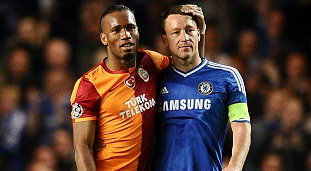 John Terry, right, is delighted with Didier Drogba's return to Chelsea