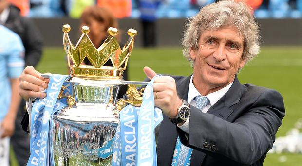 Manuel Pellegrini will be determined to keep hold of the Premier League title
