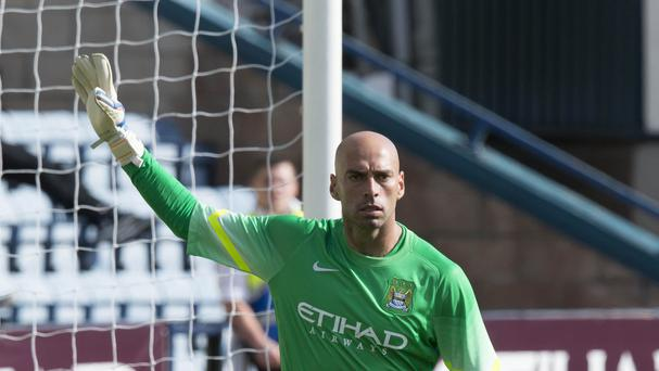 Willy Caballero joined City in July from Malaga on a three-year deal for an undisclosed fee