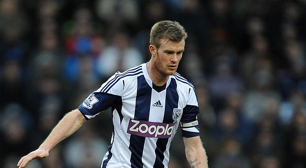Chris Brunt has handed West Brom a boost on the eve of the new season