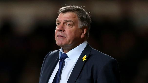 Sam Allardyce, pictured, has received support from Sir Geoff Hurst