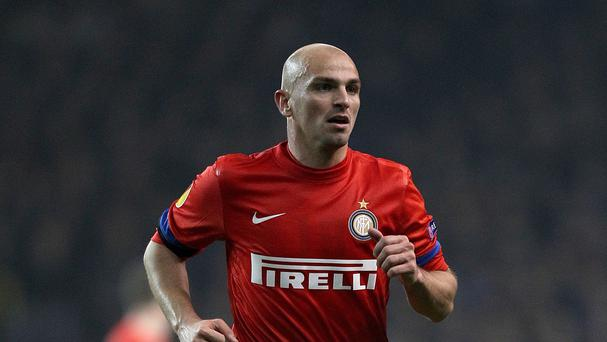 Leicester are looking to sign Esteban Cambiasso