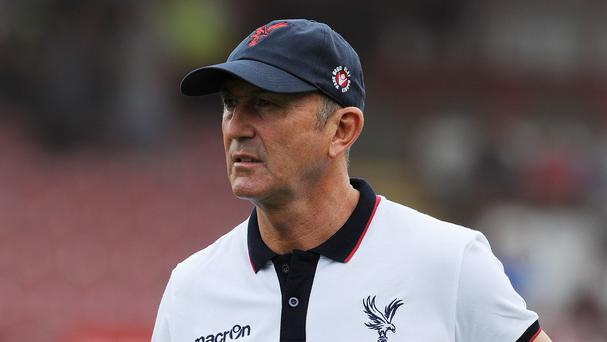 Tony Pulis has left Crystal Palace