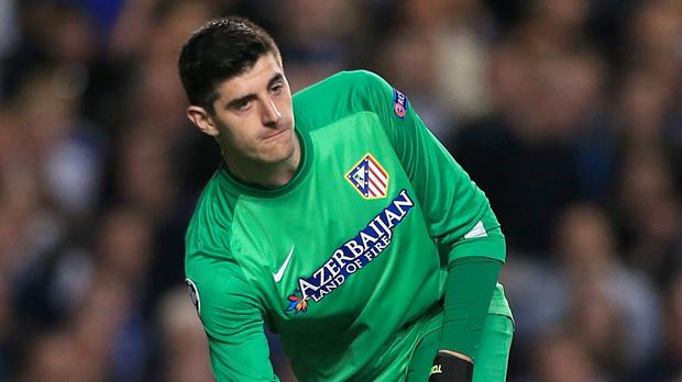 Thibaut Courtois is number one for Chelsea