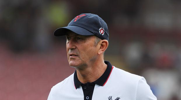Tony Pulis was all set to lead Arsenal into their season opener at Arsenal