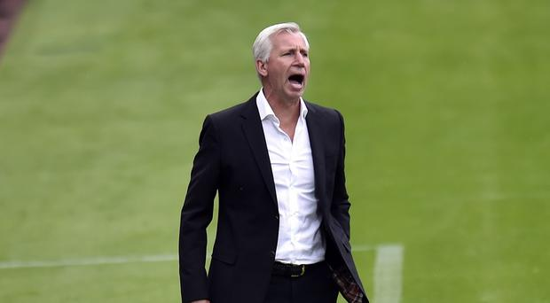 Alan Pardew had a strained relationship with Newcastle fans in the second half of last season