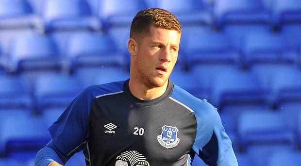 Roberto Martinez fears that he could be without Ross Barkley, pictured, for five months