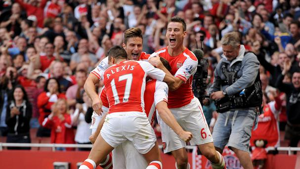 Aaron Ramsey's late strike won the game for Arsenal
