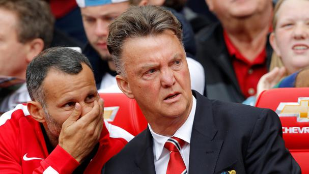 It was a tough Premier League baptism for Louis van Gaal, right