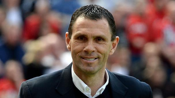 Sunderland manager Gus Poyet, pictured, refused to criticise refereeing decisions