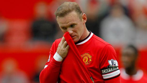 Wayne Rooney could not prevent Manchester United crashing to defeat