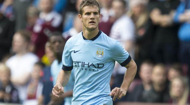 Manchester City's Bruno Zuculini has joined Valencia on loan