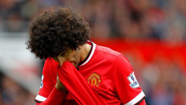 Marouane Fellaini has endured a tough time at Old Trafford