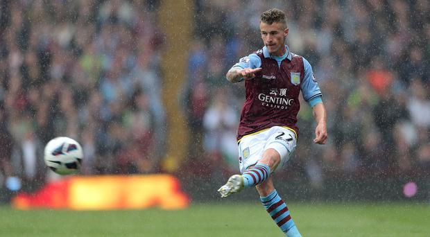 Joe Bennett has made 37 appearances for Aston Villa signing joining from Middlesbrough in 2012