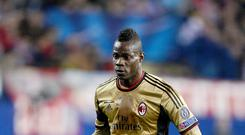 Liverpool have been linked with a move for AC MIlan striker Mario Balotelli