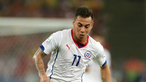 Chile's Eduardo Vargas, pictured, has joined QPR on a season-long loan from Napoli