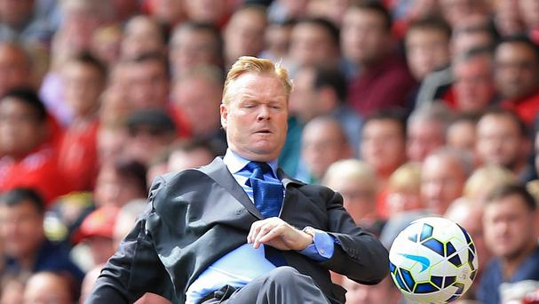 Ronald Koeman is preparing for Saturday's meeting with West Brom with the same respect he had for Liverpool last weekend - insisting he has no 'big club' hang-ups.