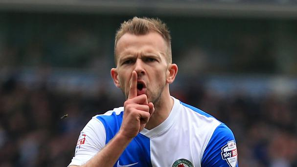 Jordan Rhodes is set to stay at Ewood Park, despite interest from Hull