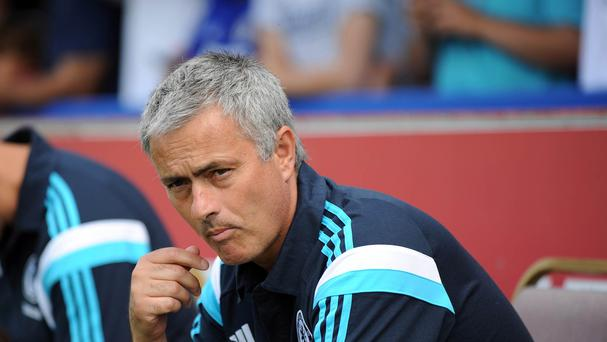 Jose Mourinho was disappointed with the 'lazy' Chelsea display in the first half against Leicester