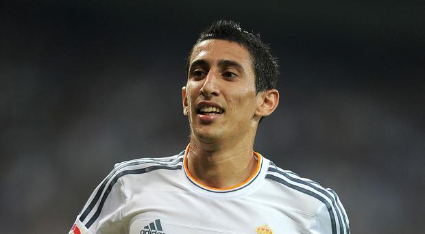 Angel di Maria, pictured, is reportedly poised to leave Real Madrid