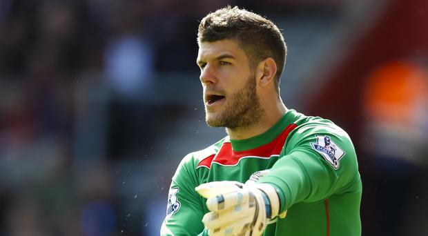 Southampton's Fraser Forster is pushing to be England's first-choice goalkeeper