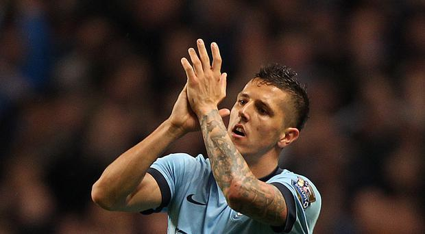 Manchester City's Stevan Jovetic is eager to make up for last season's disappointments