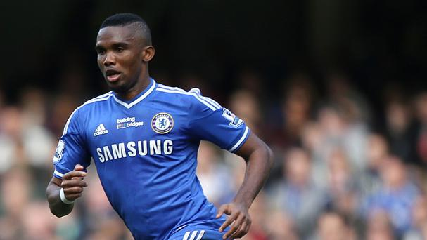 Samuel Eto'o has joined Everton