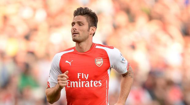 Olivier Giroud is set for a lengthy lay-off