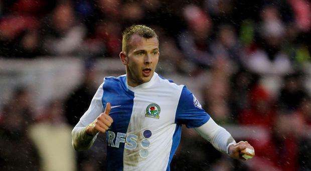 Hull boss Steve Bruce is moving on after failing to sign Blackburbn's Jordan Rhodes, pictured