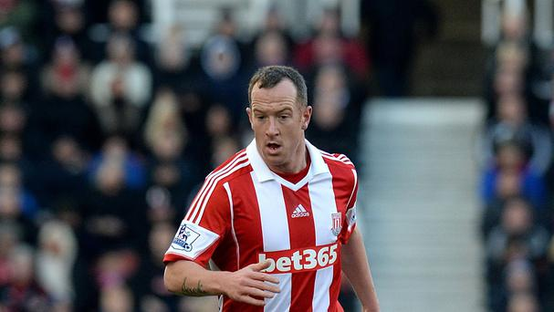 Stoke midfielder Charlie Adam is in a confident mood before heading to Manchester City