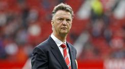 Manchester United manager Louis van Gaal is about to surpass £140m in spending