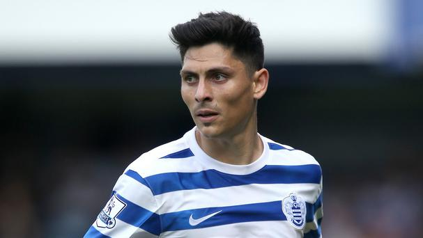 QPR midfielder Alejandro Faurlin has suffered a third serious knee injury in as many years