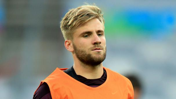 Luke Shaw was given his own training programme during his new club's tour of the USA