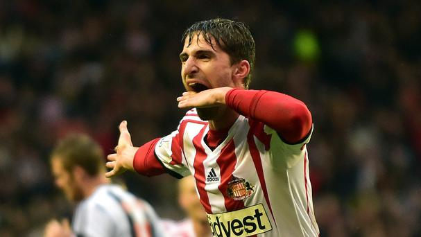 Manager Gus Poyet believes Fabio Borini, pictured, still wants to sign on loan for Sunderland